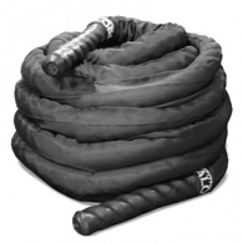 Black Conditioning Rope with Sheath
