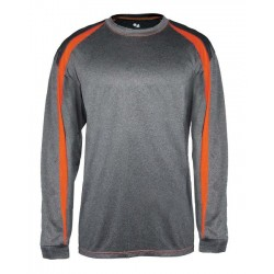 Badger - Pro Heather Fusion Long Sleeve T-Shirt